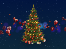 New Year  screensavers  nfs3DMagicTree