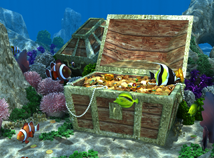 Fish  screensavers  nfs3DUnderWaterLife3