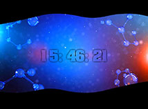 Digital Clock  screensavers  nfsAtomic