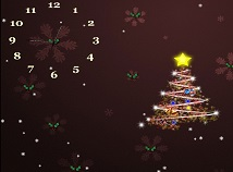 Clocks  screensavers  nfsBrownChristmasTree