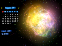 Calendar  screensavers  nfsCalendar01
