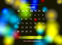 Calendar  screensavers  nfsCalendar03
