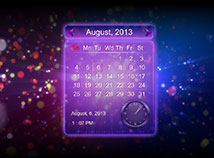 Calendar  screensavers  nfsCalendarAbstractions1