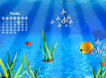 Fish  screensavers  nfsCalendarUnderWater