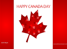Canada Day  screensavers  nfsCanadaDay1