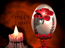 screensavers  nfsCandleHappyEaster