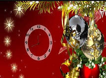 Christmas  screensavers  nfsChristmasToysAndClock
