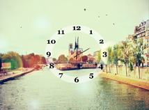 City view  screensavers  nfsCityscapeClock
