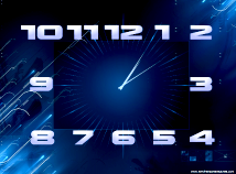 Clocks  screensavers  nfsclock01