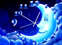 Clocks  screensavers  nfsClock15Moon