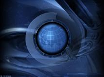 Analog  screensavers  nfsClock16