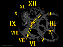 Clocks  screensavers  nfsClock17