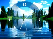 Analog  screensavers  nfsClock19