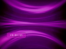 Digital Clock  screensavers  nfsClock23