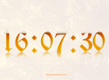 Digital Clock  screensavers  nfsClockBeer