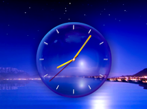 Clocks  screensavers  nfsClockNightreflexion