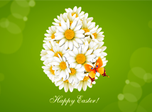 Easter  screensavers  nfsDaisiesEgg