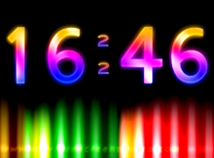 Digital Clock  screensavers  nfsDigitalClockColor