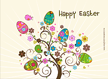 Easter  screensavers  nfsEasterTree