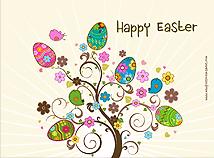 Easter  screensavers  nfsEasterTree