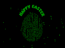 Easter  screensavers  nfsEggMatrix