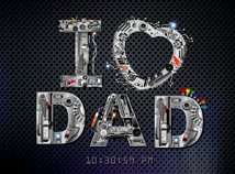 Father's Day  screensavers  nfsFathersDay1