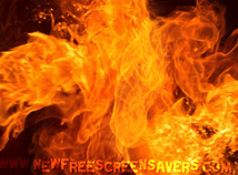 Fire  screensavers  nfsFireFlash