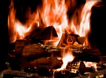 Fire  screensavers  nfsFirePlace02