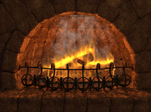 Fire  screensavers  nfsFirePlace3D