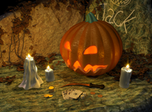 Halloween  screensavers  nfsFlashRoyal3D