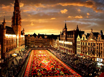 City view  screensavers  nfsFlowerCarpetBrussels