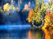 Autumn  screensavers  nfsFogontheLake