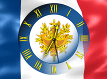 France  screensavers  nfsFranceFlagClock