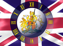 United Kingdom  screensavers  nfsGBFlagClock