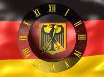Flag Clock  screensavers  nfsGermanyFlagClock