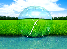 Clocks  screensavers  nfsGrassLandscape