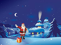 Christmas  screensavers  nfsGreetingsFromSanta