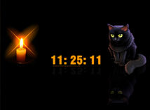 Halloween  screensavers  nfsHalloweenCat