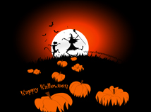 Halloween  screensavers  nfsHalloweenNightSilhouettes