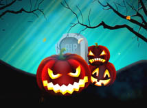 Halloween  screensavers  nfsHallowenPumpkinsTrees
