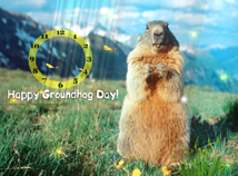 Groundhog Day  screensavers  nfsHappyGroundhogDay