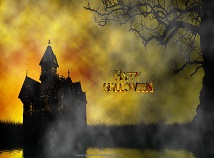 Holidays  screensavers  nfsHappyHalloweenHouse