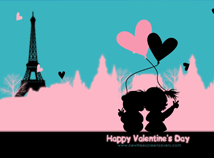 St. Valentines  screensavers  nfsHappyParis