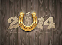 New Year  screensavers  nfsHorseshoe2014