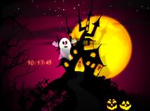 Halloween  screensavers  nfsHouseGhost