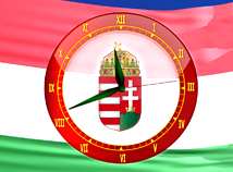 Flags  screensavers  nfsHungaryAnalogClock