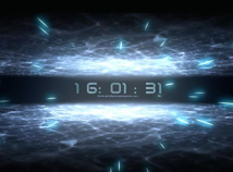 Digital Clock  screensavers  nfsInSpace
