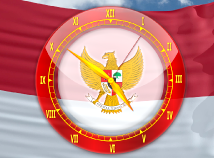 Flag Clock  screensavers  nfsIndonesiaAnalogClock
