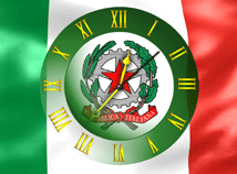Italy  screensavers  nfsItalyFlagClock