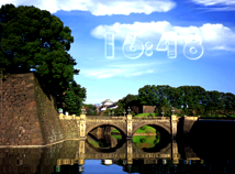 Digital Clock  screensavers  nfsLandscapeBridge